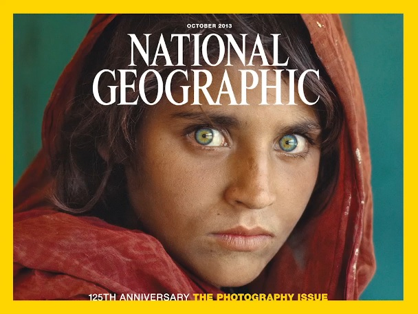 Afghan girl time cover apologise, but